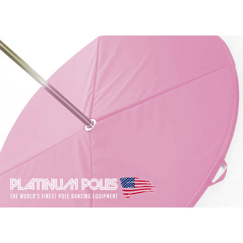 Platinum Poles PINK 120cm x 5cm Dance Crash / Pole Mat